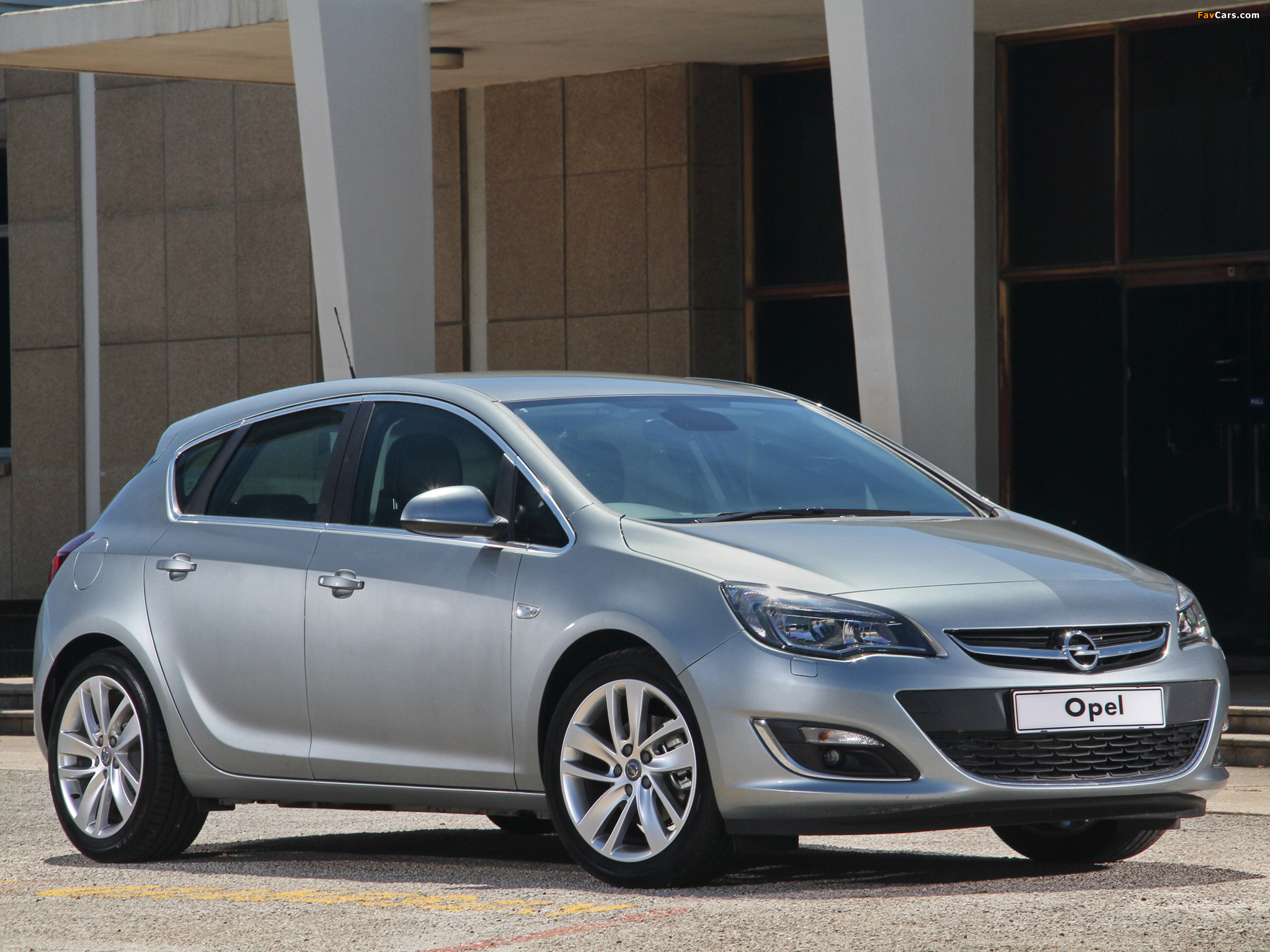 Images of Opel Astra ZA-spec (J) 2013 (2048 x 1536)