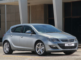 Images of Opel Astra ZA-spec (J) 2013