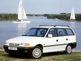 Opel Astra Caravan (F) 1991–94 images