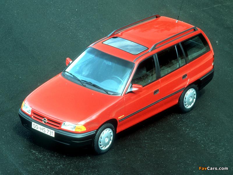 Opel Astra Caravan (F) 1991–94 photos (800 x 600)