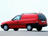 Opel Astra Van (F) 1991–94 photos