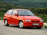 Opel Astra GSi (F) 1991–98 photos