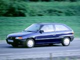 Opel Astra 3-door (F) 1991–94 photos