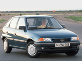 Opel Astra 5-door (F) 1991–94 wallpapers