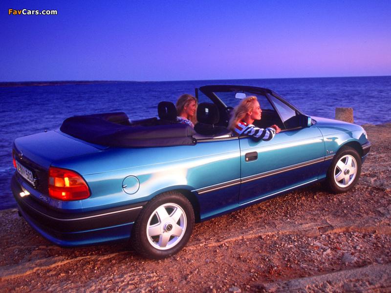 Opel Astra Cabrio (F) 1993–94 photos (800 x 600)