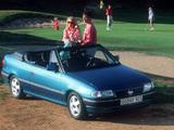 Opel Astra Cabrio (F) 1993–94 wallpapers
