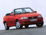 Opel Astra Cabrio (F) 1994–99 photos