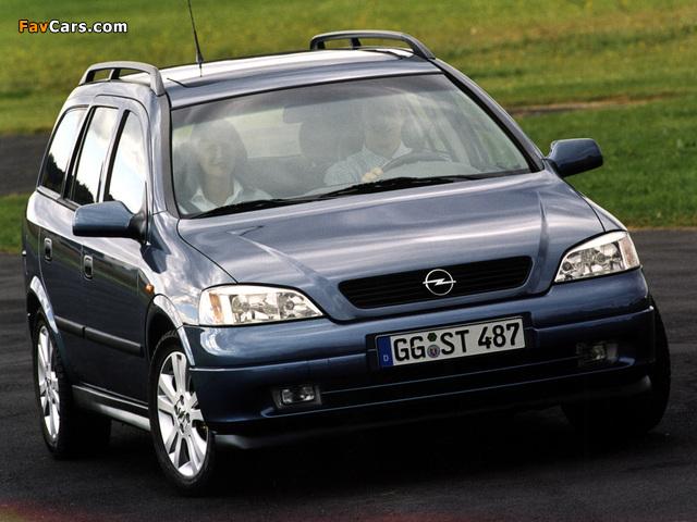 Opel Astra Caravan (G) 1998–2004 images (640 x 480)