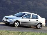 Opel Astra Sedan (G) 1998–2004 photos
