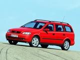 Opel Astra Caravan (G) 1998–2004 photos