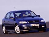 Opel Astra 5-door (G) 1998–2004 pictures