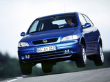 Opel Astra OPC (G) 1999–2001 photos