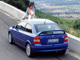 Opel Astra OPC (G) 1999–2001 pictures