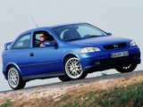 Opel Astra OPC (G) 1999–2001 wallpapers