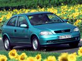 Opel Astra Eco4 (G) 2001–04 photos