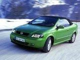 Opel Astra Cabrio (G) 2001–05 photos