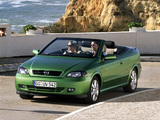 Opel Astra Cabrio (G) 2001–05 wallpapers