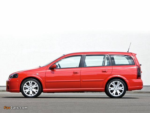 Opel Astra OPC Caravan (G) 2002–04 images (640 x 480)