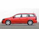 Opel Astra OPC Caravan (G) 2002–04 images