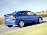 Opel Astra OPC (G) 2002–04 photos