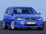 Opel Astra OPC Caravan (G) 2002–04 pictures