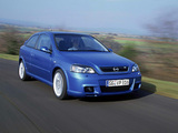 Opel Astra OPC (G) 2002–04 wallpapers