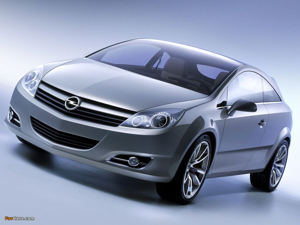 Opel GTC Concept 2003 images (1024 x 768)