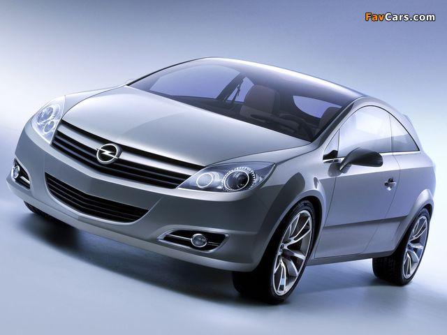 Opel GTC Concept 2003 images (640 x 480)