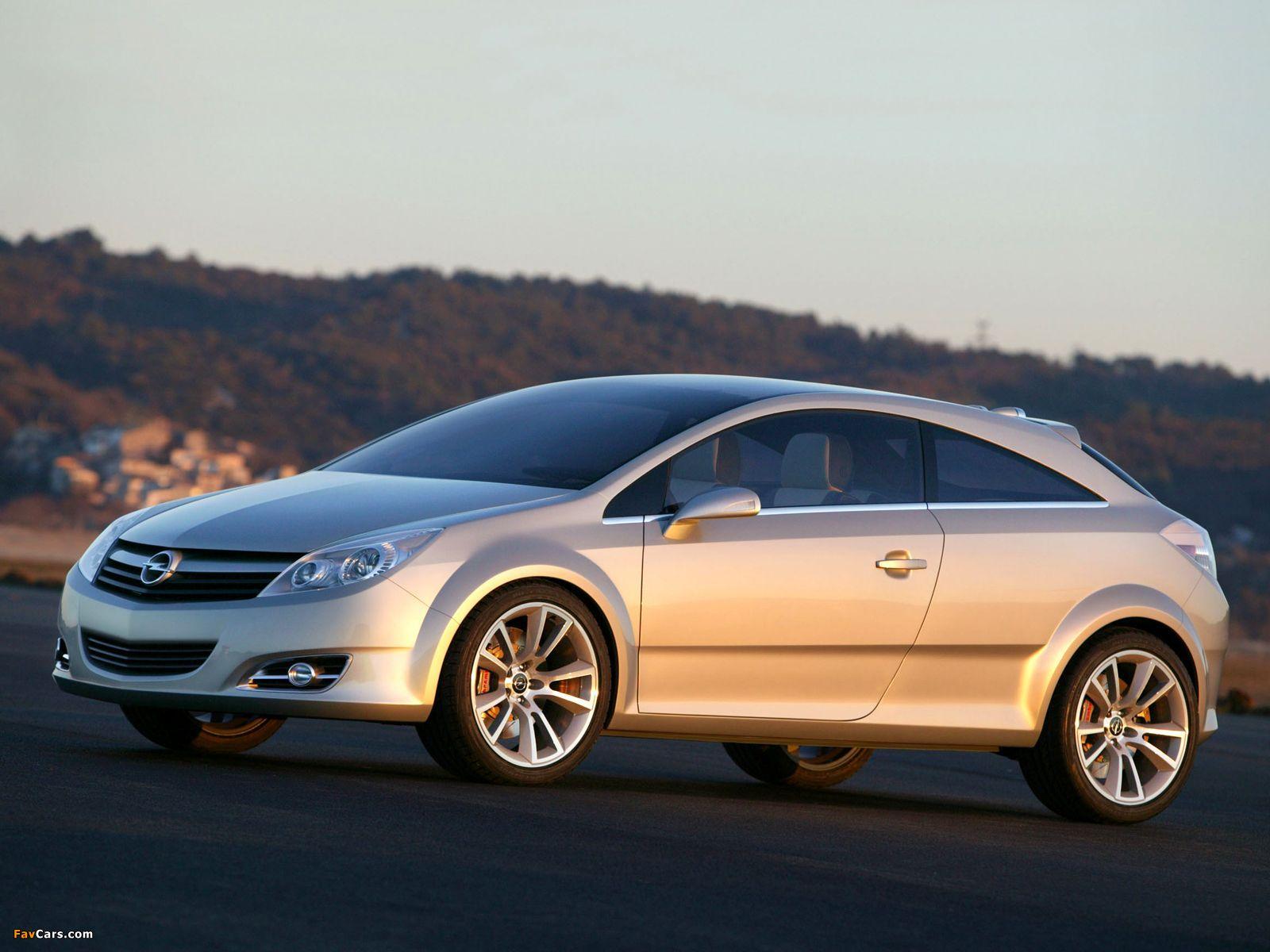 Opel GTC Concept 2003 photos (1600 x 1200)