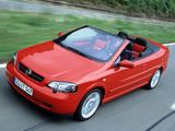 Opel Astra Cabrio Linea Rossa (G) 2003–04 pictures