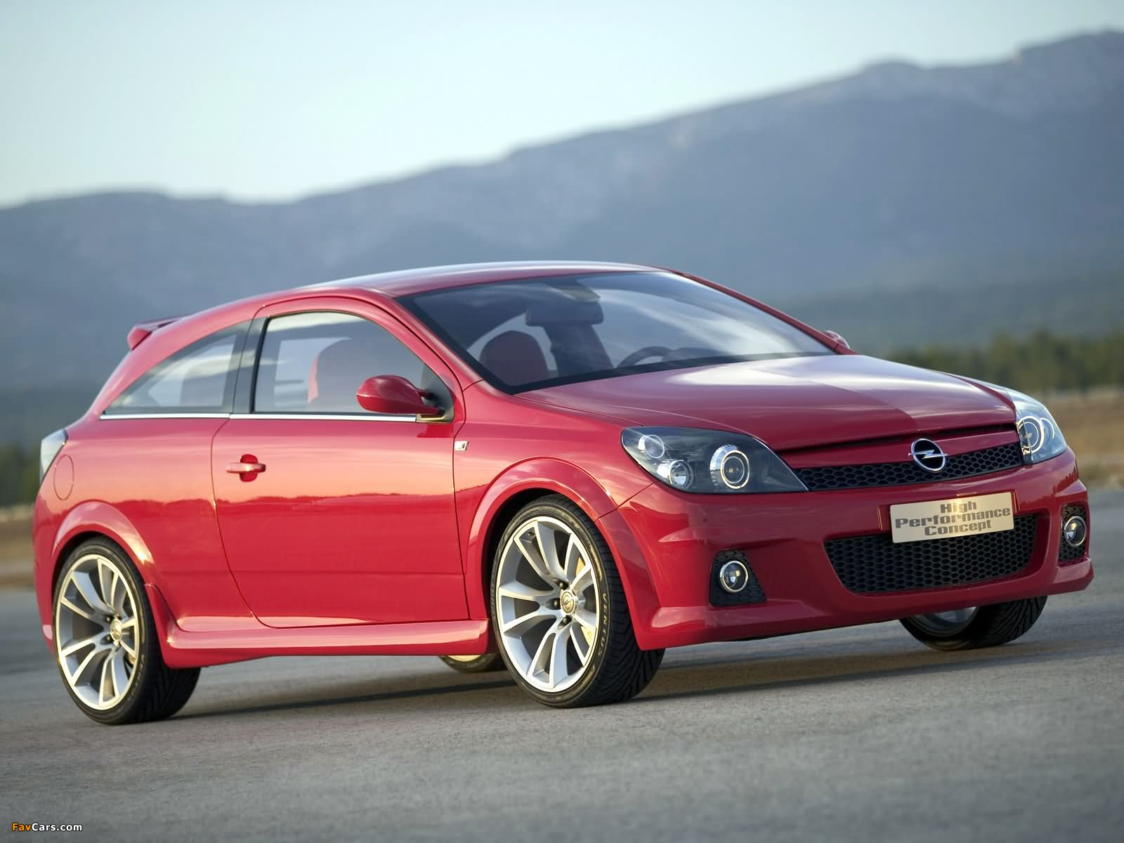 Opel Astra GTC High Performance Concept (H) 2004 images (1600 x 1200)