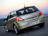 Opel Astra Hatchback (H) 2004–07 photos