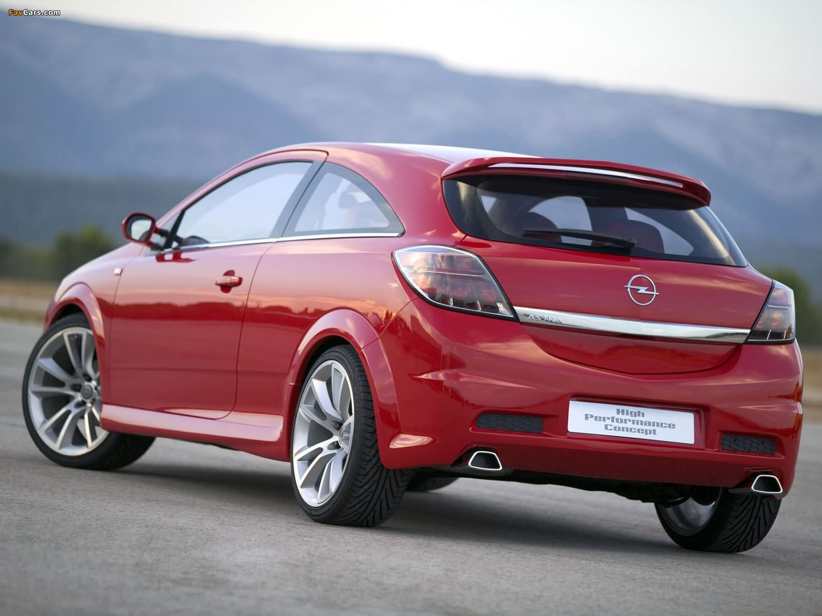 Opel Astra GTC High Performance Concept (H) 2004 pictures (1600 x 1200)