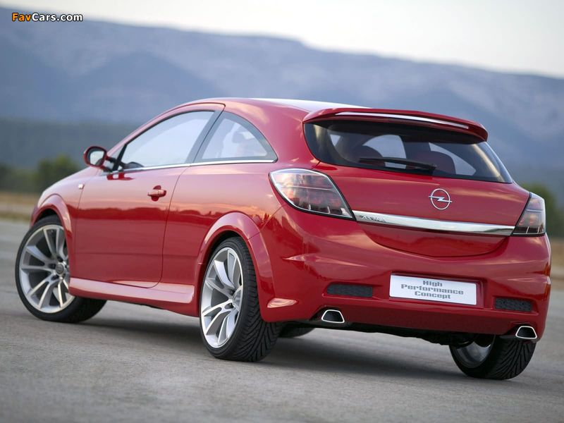 Opel Astra GTC High Performance Concept (H) 2004 pictures (800 x 600)