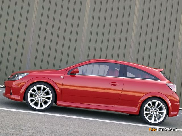 Opel Astra GTC High Performance Concept (H) 2004 pictures (640 x 480)