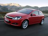 Opel Astra GTC (H) 2005–11 photos