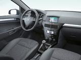 Opel Astra Hatchback (H) 2007 images