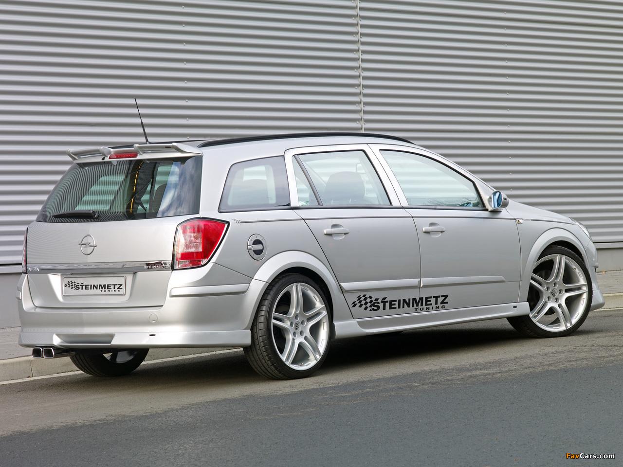 Steinmetz Opel Astra Caravan (H) 2007 photos (1280 x 960)