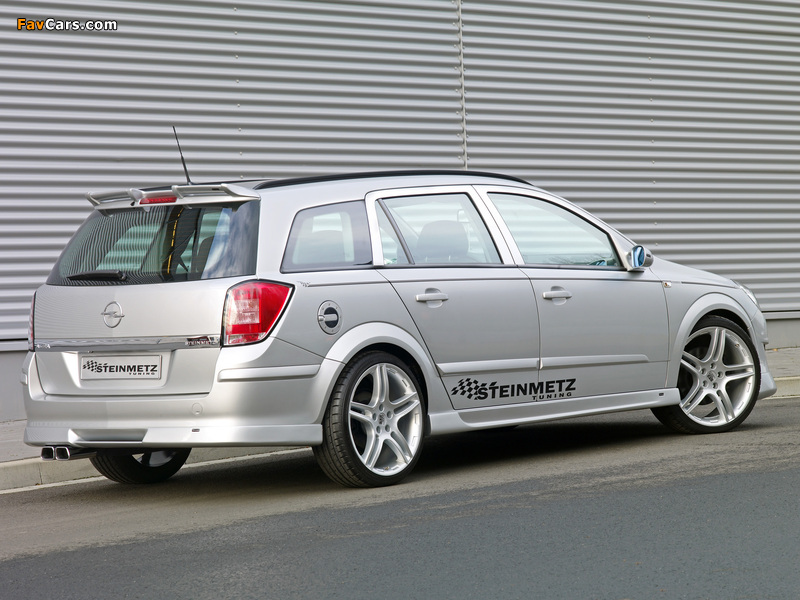 Steinmetz Opel Astra Caravan (H) 2007 photos (800 x 600)