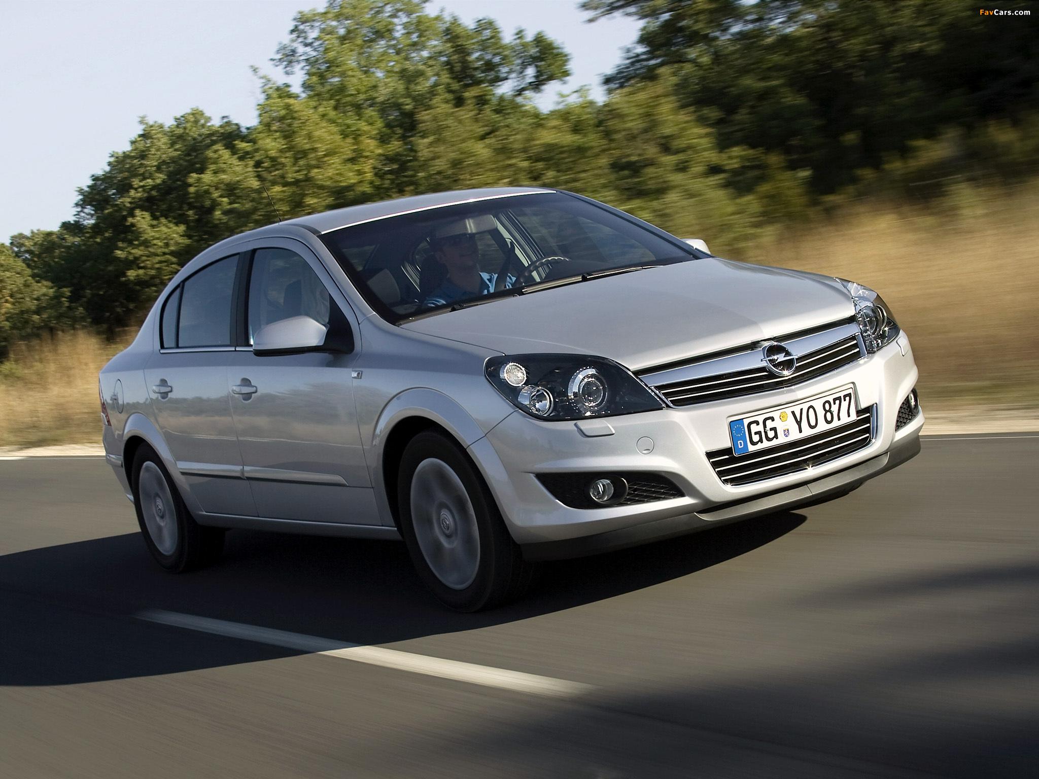 Opel Astra Sedan (H) 2007 wallpapers (2048 x 1536)