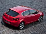 Opel Astra 5-door (J) 2009 images