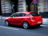 Opel Astra 5-door (J) 2009 photos