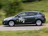 Opel Astra ecoFLEX 5-door (J) 2009 photos