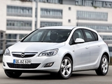 Opel Astra ecoFLEX 5-door (J) 2009 pictures