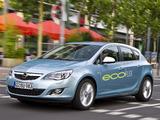 Opel Astra ecoFLEX 5-door (J) 2009 wallpapers