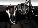 Opel Astra 5-door ZA-spec (J) 2010 images