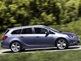 Opel Astra Sports Tourer (J) 2010–12 images