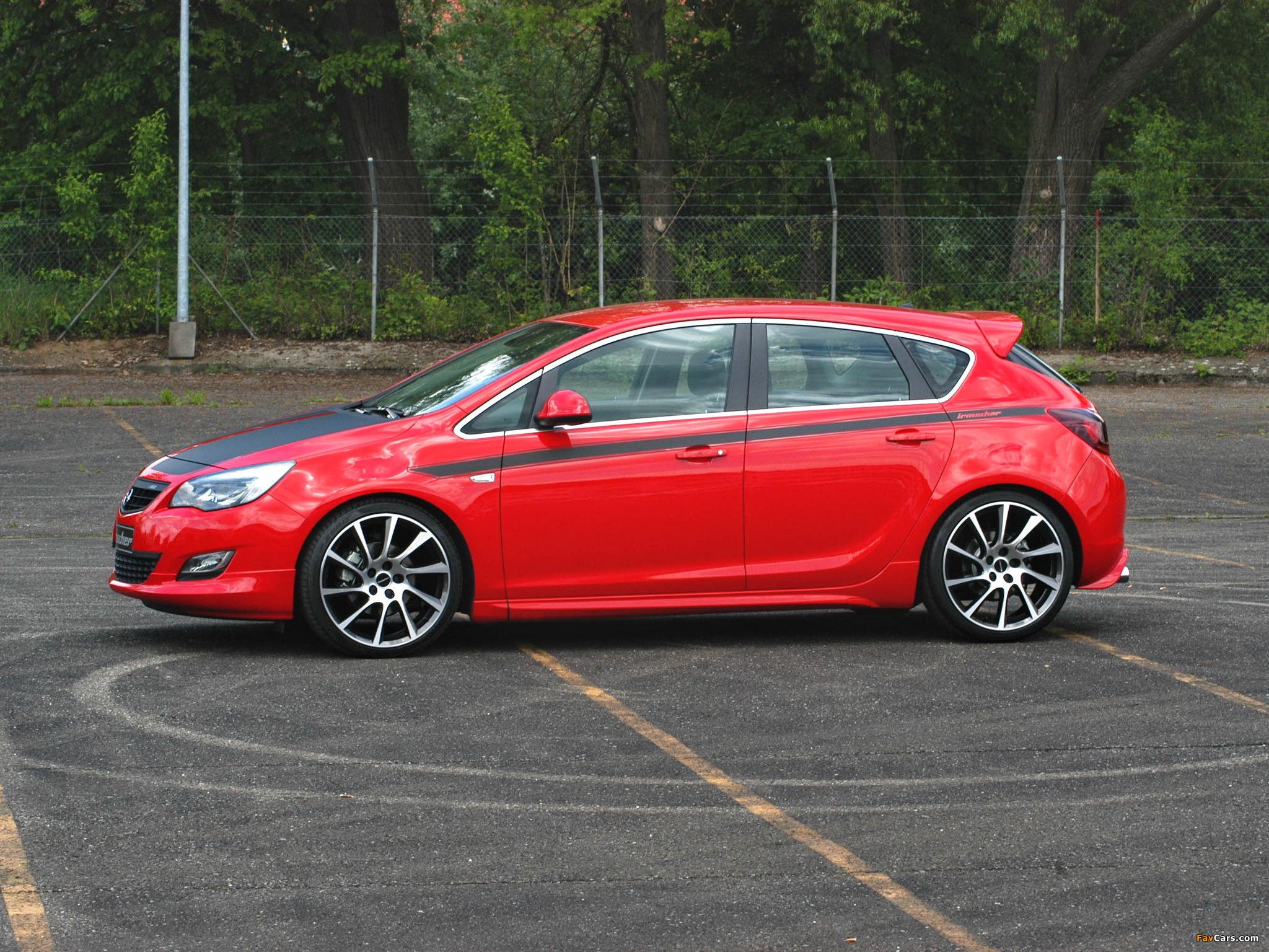 Irmscher Opel Astra i1600 5-door (J) 2010 photos (2048 x 1536)