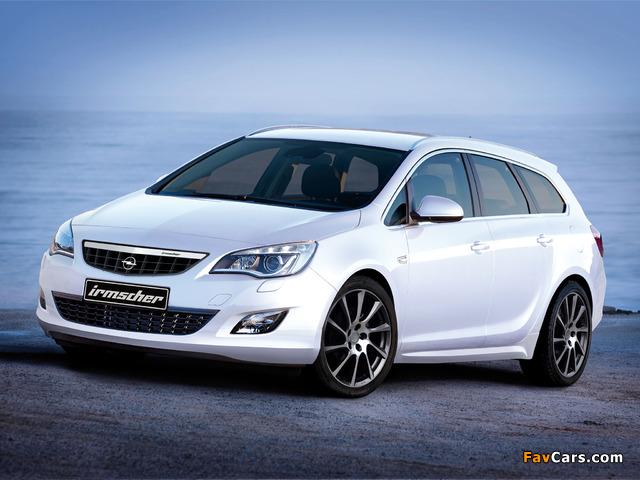 Irmscher Opel Astra Sports Tourer (J) 2010 photos (640 x 480)