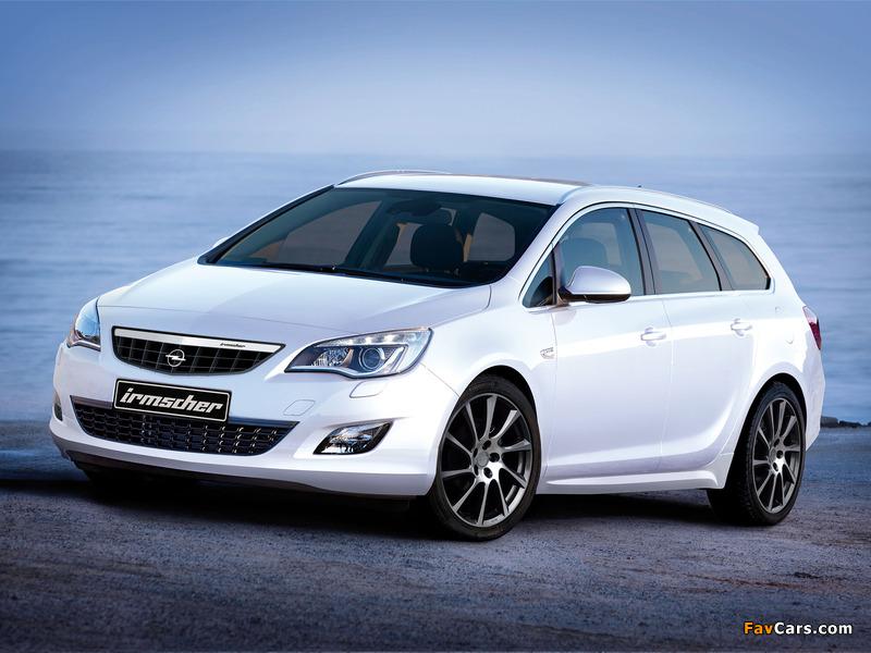 Irmscher Opel Astra Sports Tourer (J) 2010 photos (800 x 600)
